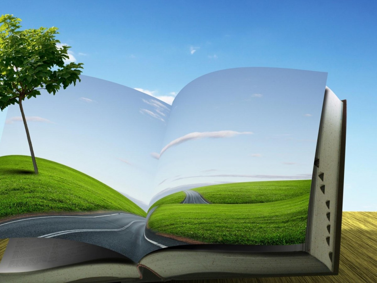 Abstract-Fantasy-Book-HD-Wallpaper-Wide-Background
